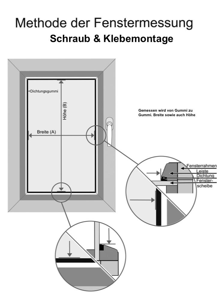 Messen-Schraub-Klebemontage